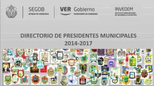 Directorios municipales