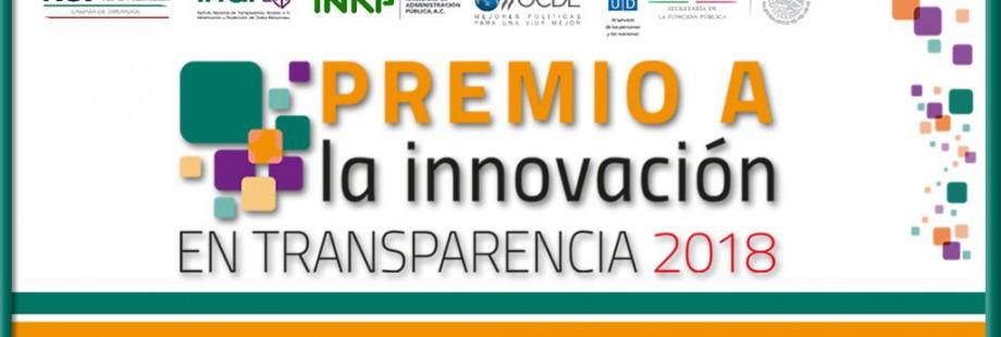 2018 transparencia premio